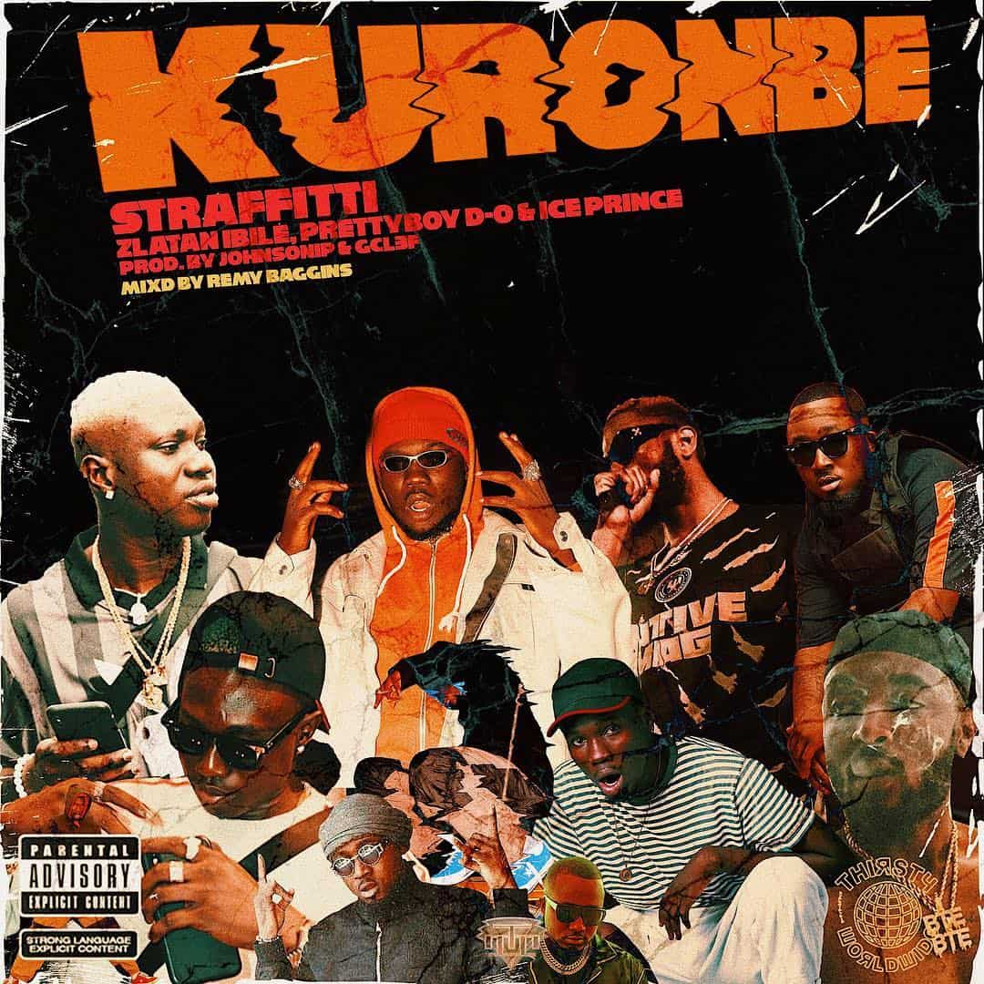 """Listen to Straffitti feature Zlatan Ibile, Prettyboy D-O and Ice Prince for """"Kuronbe"""""""