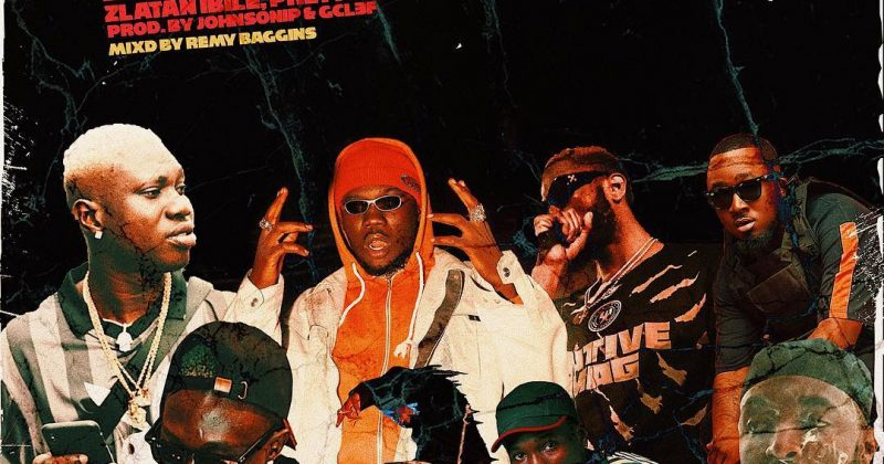 """Listen to Straffitti feature Zlatan Ibile, Prettyboy D-O and Ice Prince for """"Kuronbe"""" - The Native"""