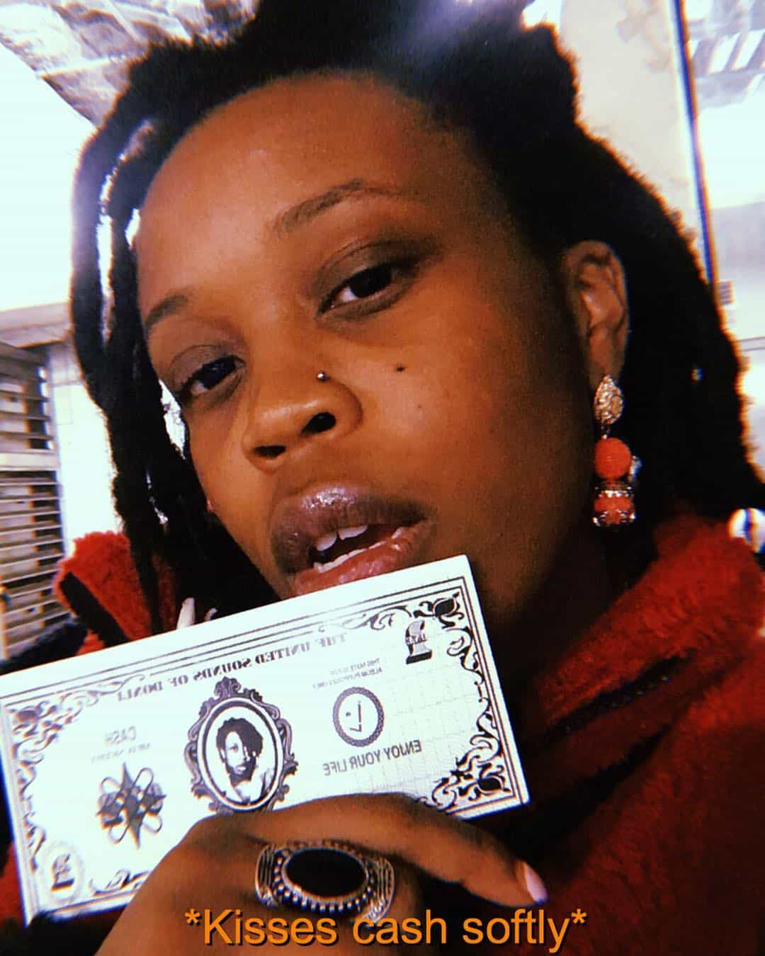 """Lady Donli is addicted to """"Ca$h"""""""