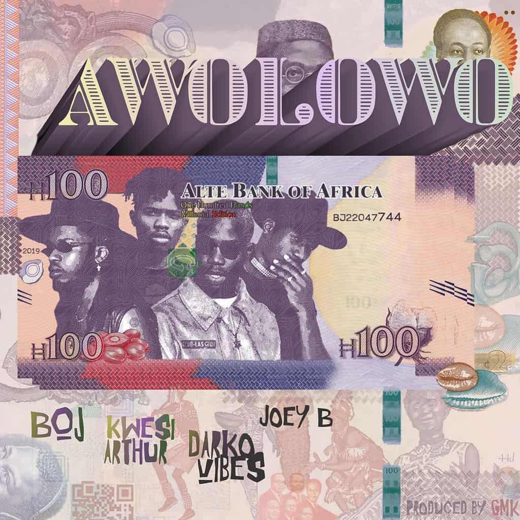 "BOJ teams up with Kwesi Arthur, Darkovibes and Joey B for new single, ""Awolowo"""