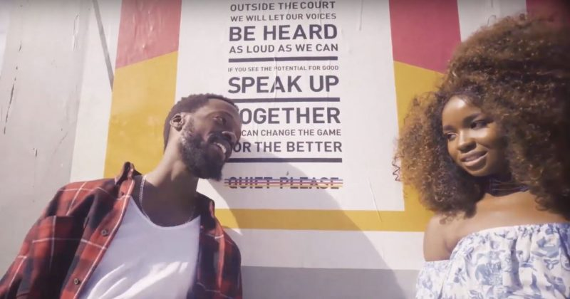 "Watch the music video for Mojeed's ""Love Spell"" featuring Tesh Carter - The Native"