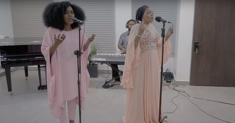 "Tope Alabi and TY Bello deliver live music themed music video for ""Iwo Lawa O Ma Bo"" - The Native"