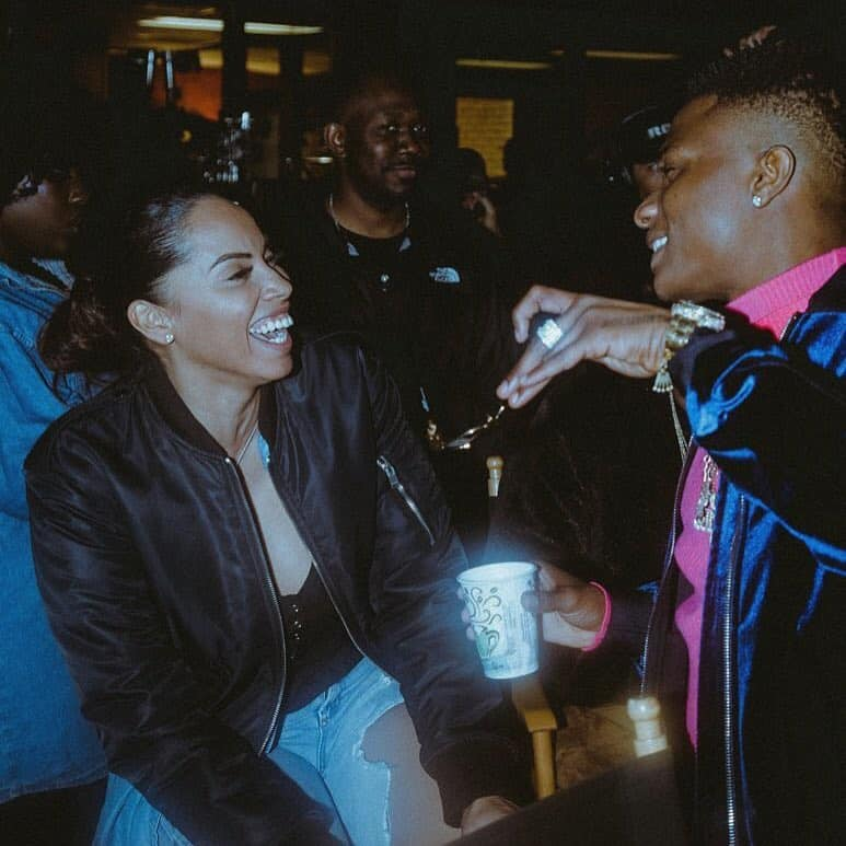REPORT: Wizkid parts ways with manager, Jada Pollock after accusations of domestic violence