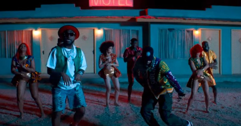 """Watch the music video for Davido and Chris Brown's """"Blow My Mind"""" - The Native"""