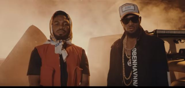 """See D'banj & Slimcase In Video For """"Mo Cover Eh"""""""