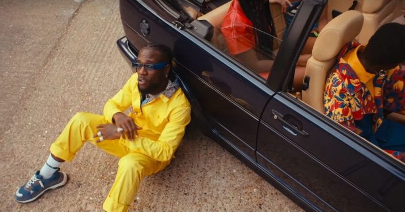 "Burna Boy shares colorful car-centric new music video for ""Pull Up"" - The Native"
