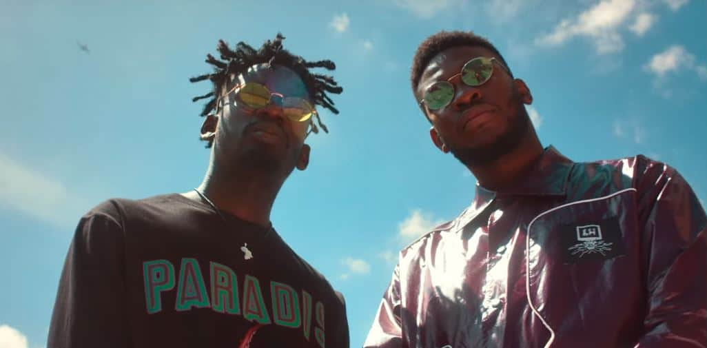 """Watch the music video for Nonso Amadi and Mr Eazi's """"Go Outside"""""""