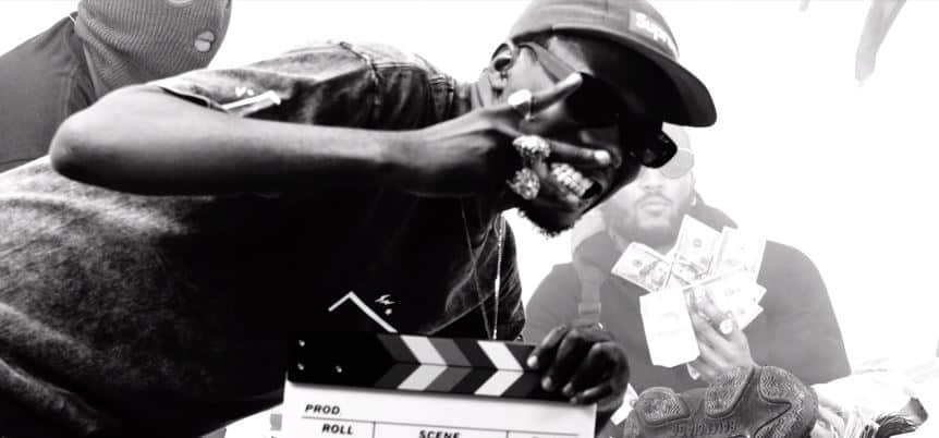 """Straffitti's goes monochrome for """"Kuronbe"""" music video, with Prettyboy D-O, Ice Prince and Zlatan Ibile"""