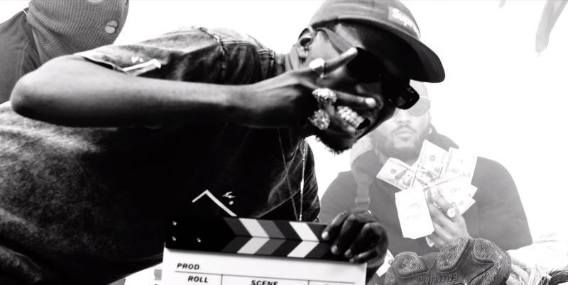 "Straffitti's monochrome music video for ""Kuronbe"" features Prettyboy D-O, Ice Prince and Zlatan Ibile - The Native"