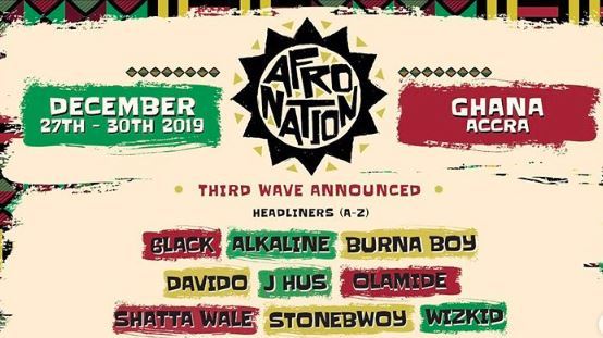 6lack, Alkaline, Burna Boy, Davido and others to headline Afro Nation in Ghana this December