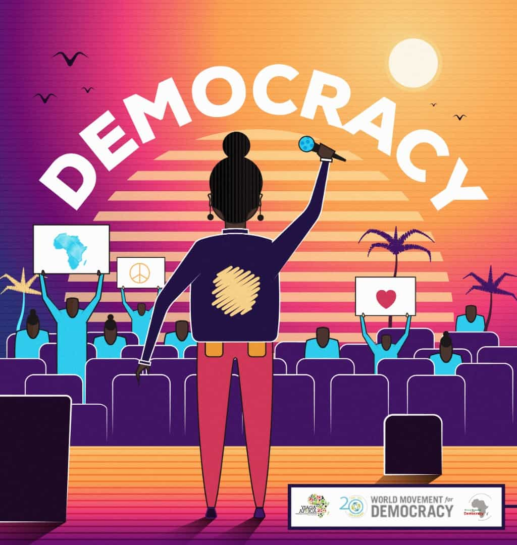 """Listen to """"Democracy"""", a pan-African collaboration about greed, absolute power and corruption"""