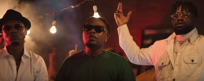 """DJ Enimoney, Olamide & Reminisce are all about the rave in video for """"Shibinshi"""""""
