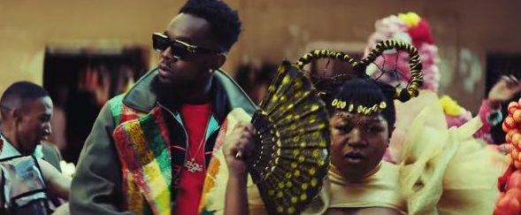 "Patoranking sets the music video for ""Open Fire"" in an eccentric universe"