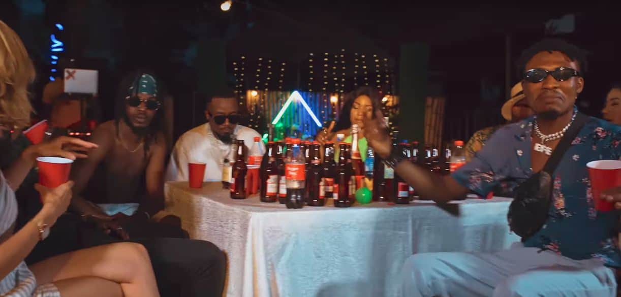"""Watch Efe, BOJ and Ice Prince Party In The Video for """"Campaign"""""""