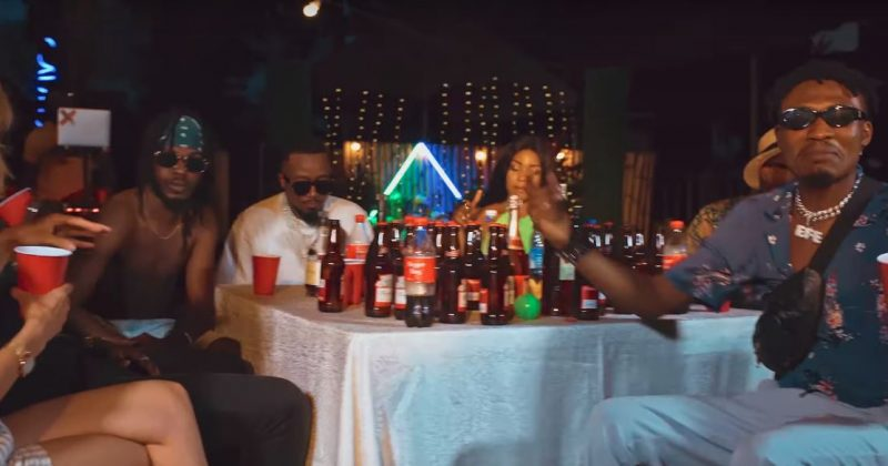 "Efe, BOJ and Ice Prince are partying in their music video for ""Campaign"" - The Native"