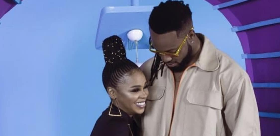 "Chidinma and Flavour deliver a stunning duet in the music video for ""Nkem"""