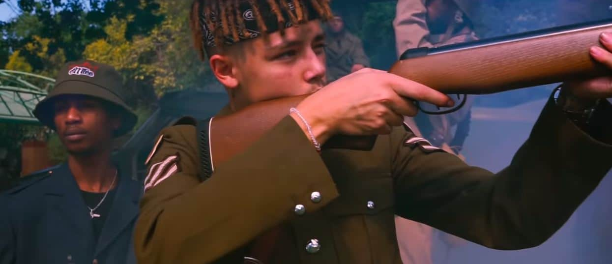 """J Molley and Emtee are war ready in their music video for """"Going Down"""""""