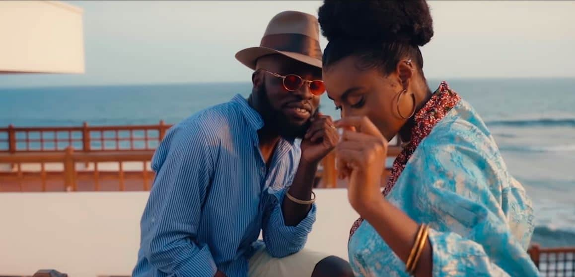 """M.anifest and Burna Boy are on baecation in the video for """"Tomorrow"""""""