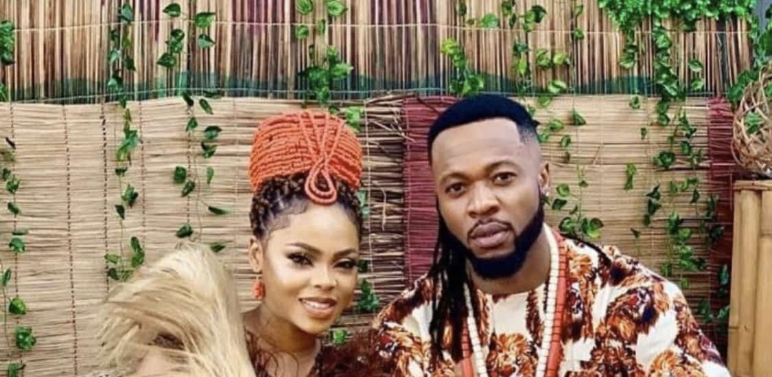 "Watch Chidinma and Flavour In the romantic video for their latest single, ""Iyawo Mi"""