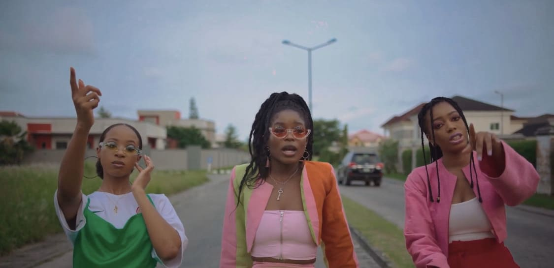 """Gigi Atlantis is a party starter in the new video for """"Wahala on the Rocks"""""""