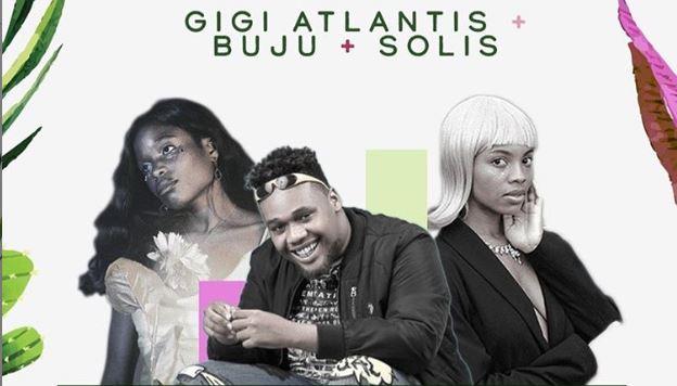 Join Buju, Gigi Atlantis & Solis at the first PGM Live for 2020