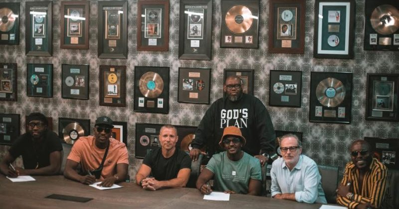 Sauti Sol have signed an exclusive recording deal with Universal Music Africa - The Native