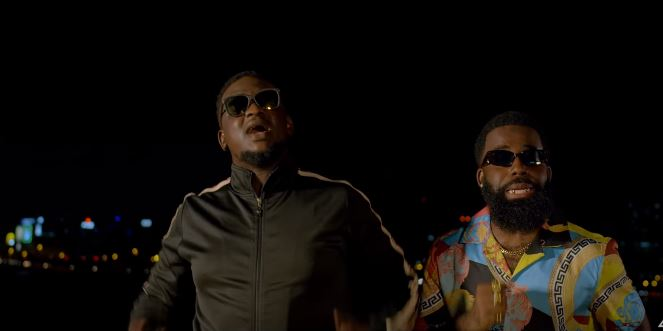 """Watch Afro B & Wande Coal in the video for new single, """"Amina (Remix)"""""""