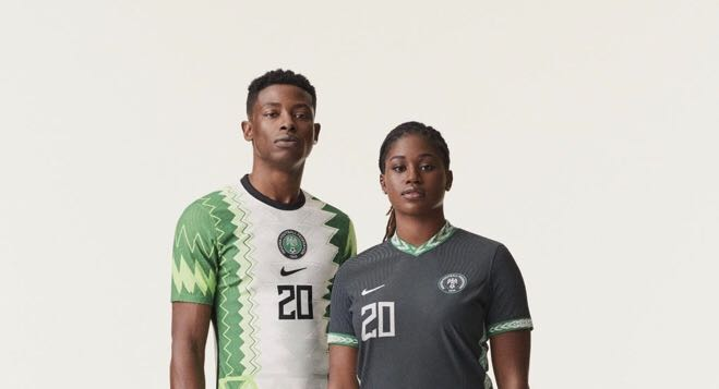 Nike unveils new jersey kit for Nigeria's Super Eagles & Super Falcons