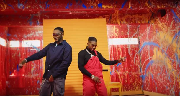 "Watch the glossy video for Skiibii & Kizz Daniel's collaborative single, ""Somebody"""