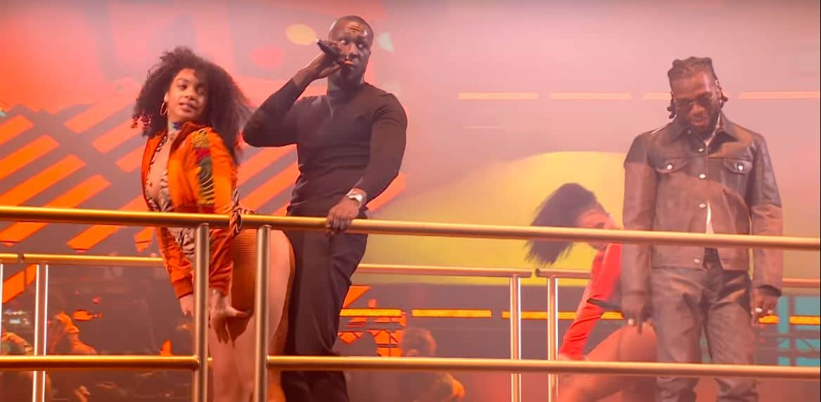 Stormzy and Burna Boy at the BRITs 2020 and 6 other videos you need to watch this week