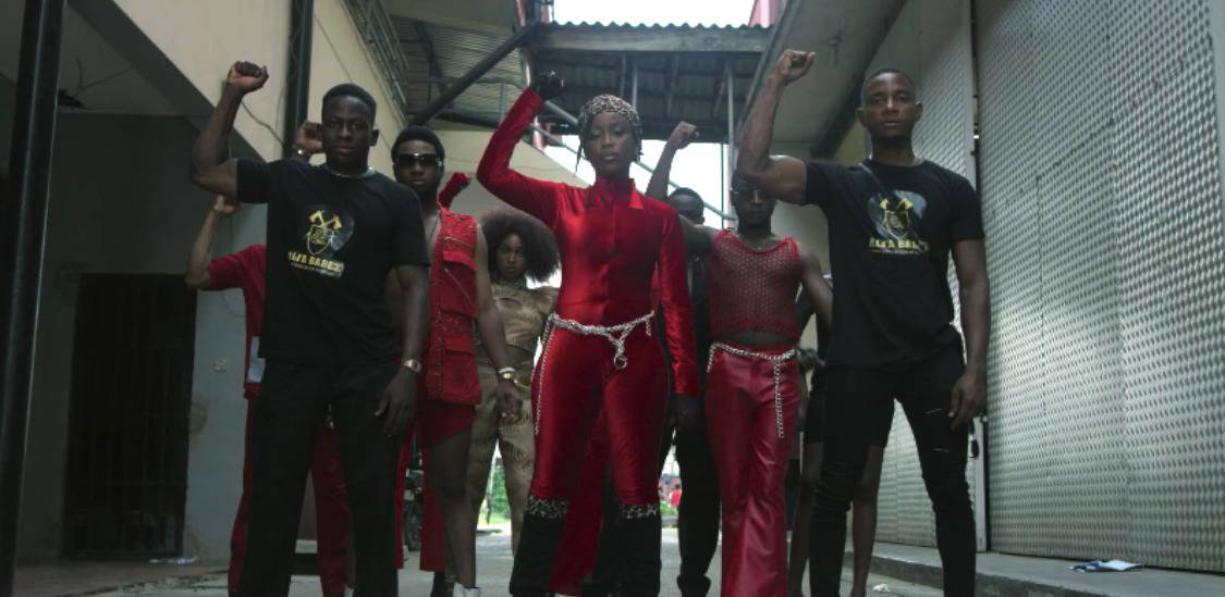 """Lady Donli is the kickass hero in the video for """"Corner"""""""