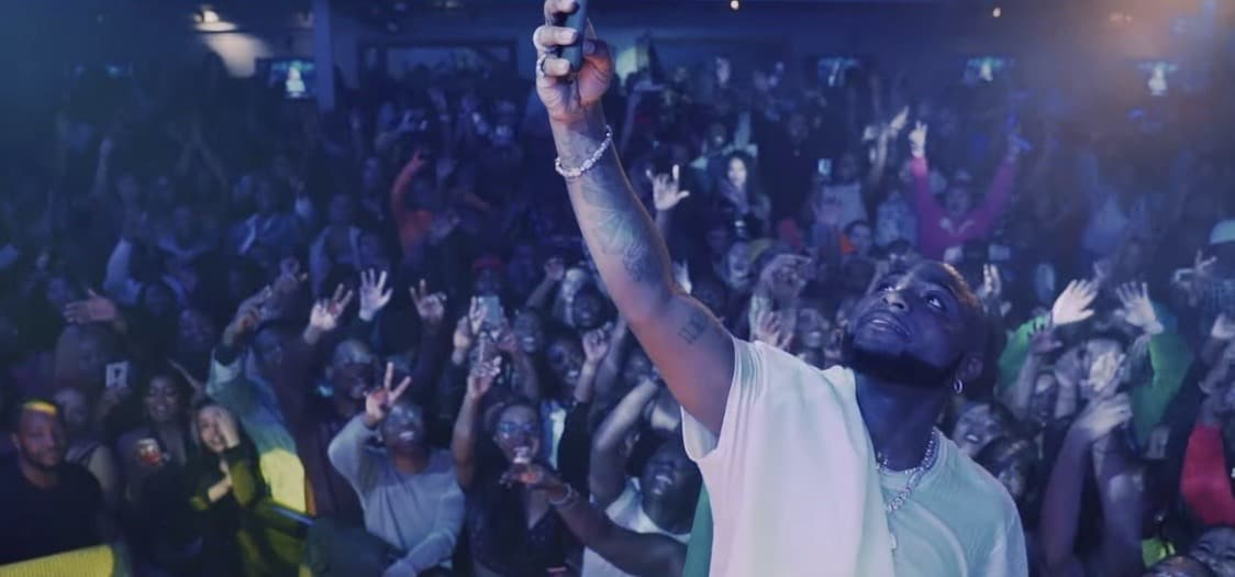 "Watch Davido and the DMW crew in the video for ""Intro"""