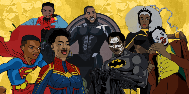 12 Nigerian Artists As Your Favourite Superheroes