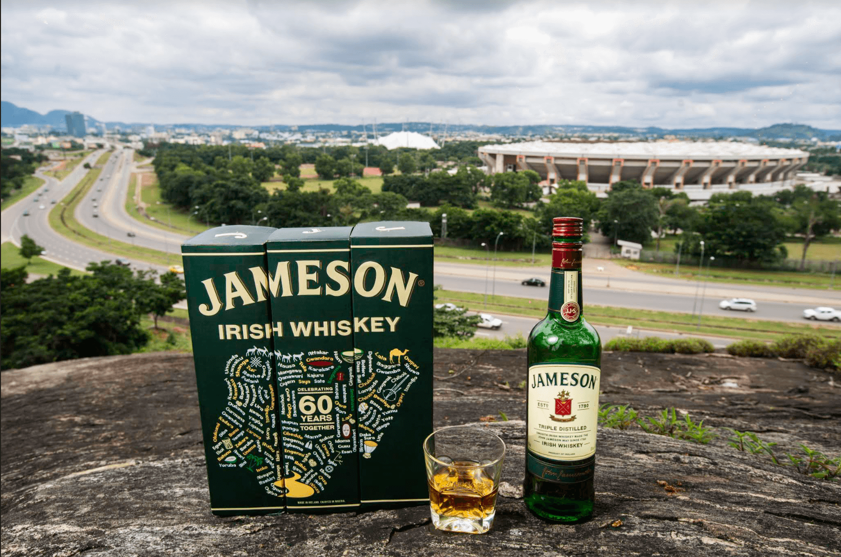 All the details of Jameson's special Independence Day bottle