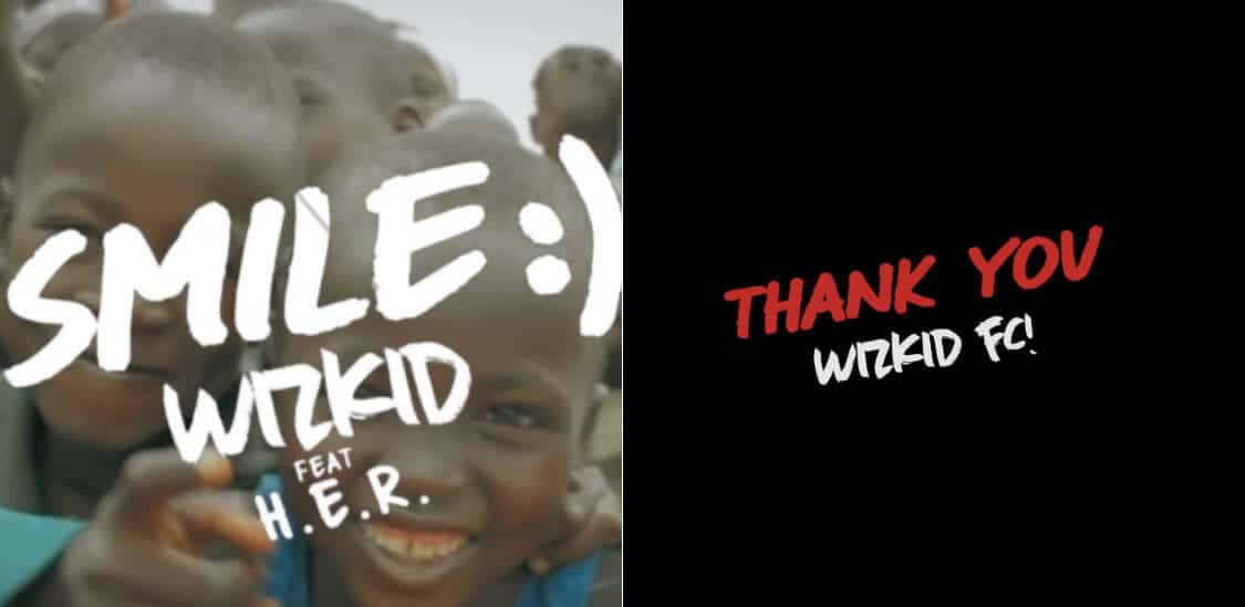 """Wizkid's lyric video for """"Smile"""" is a love letter to the FC"""