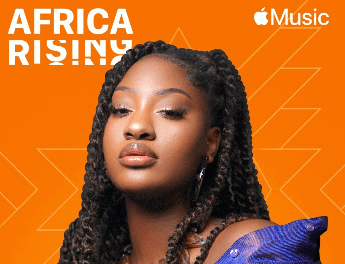 Tems is Apple Music's Africa Rising artist of the month