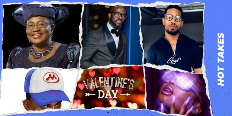 Hot Takes: Lori Harvey's Valentine, Be Like Ngozi Challenge, Mowalola's ubiquitous trucker hats & more
