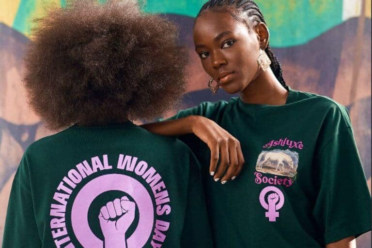 Ashluxe releases limited T-shirt in celebration of International Women's Day