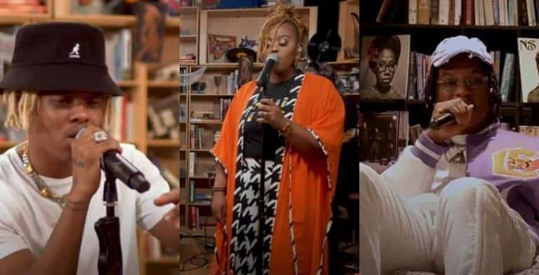 Watch Nasty C, Prince Kaybee & Msaki, Alpha P & more in a special Tiny Desk concert