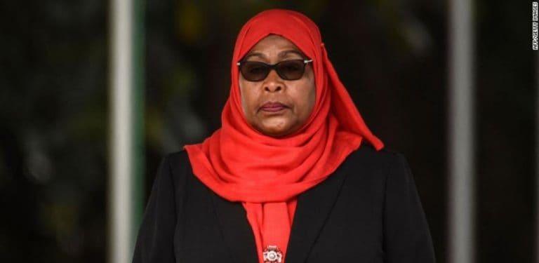 Tanzania swears in Samia Suluhu Hassan as its first female president