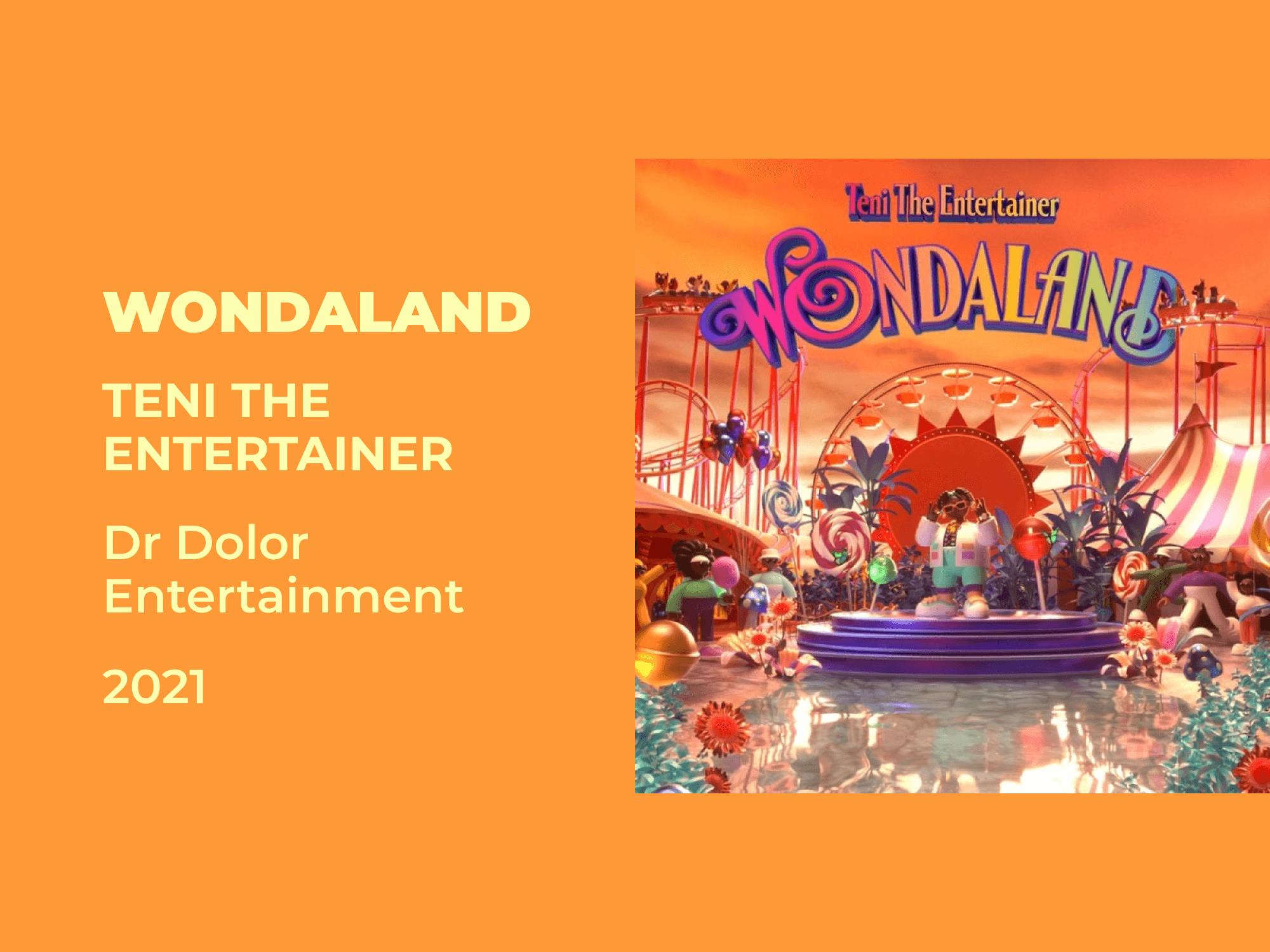 Review: Teni The Entertainer's 'Wondaland'