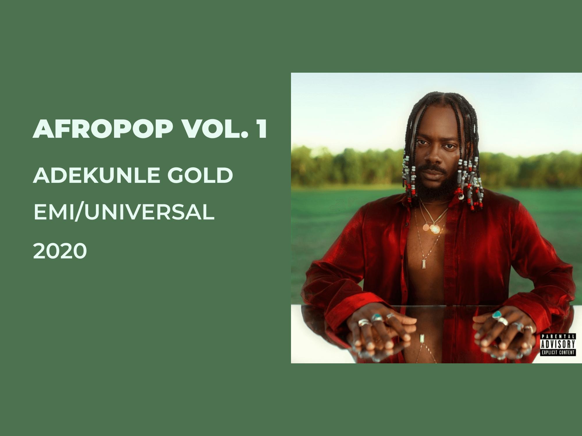 Review: Adekunle's Gold 'AfroPop Vol 1'