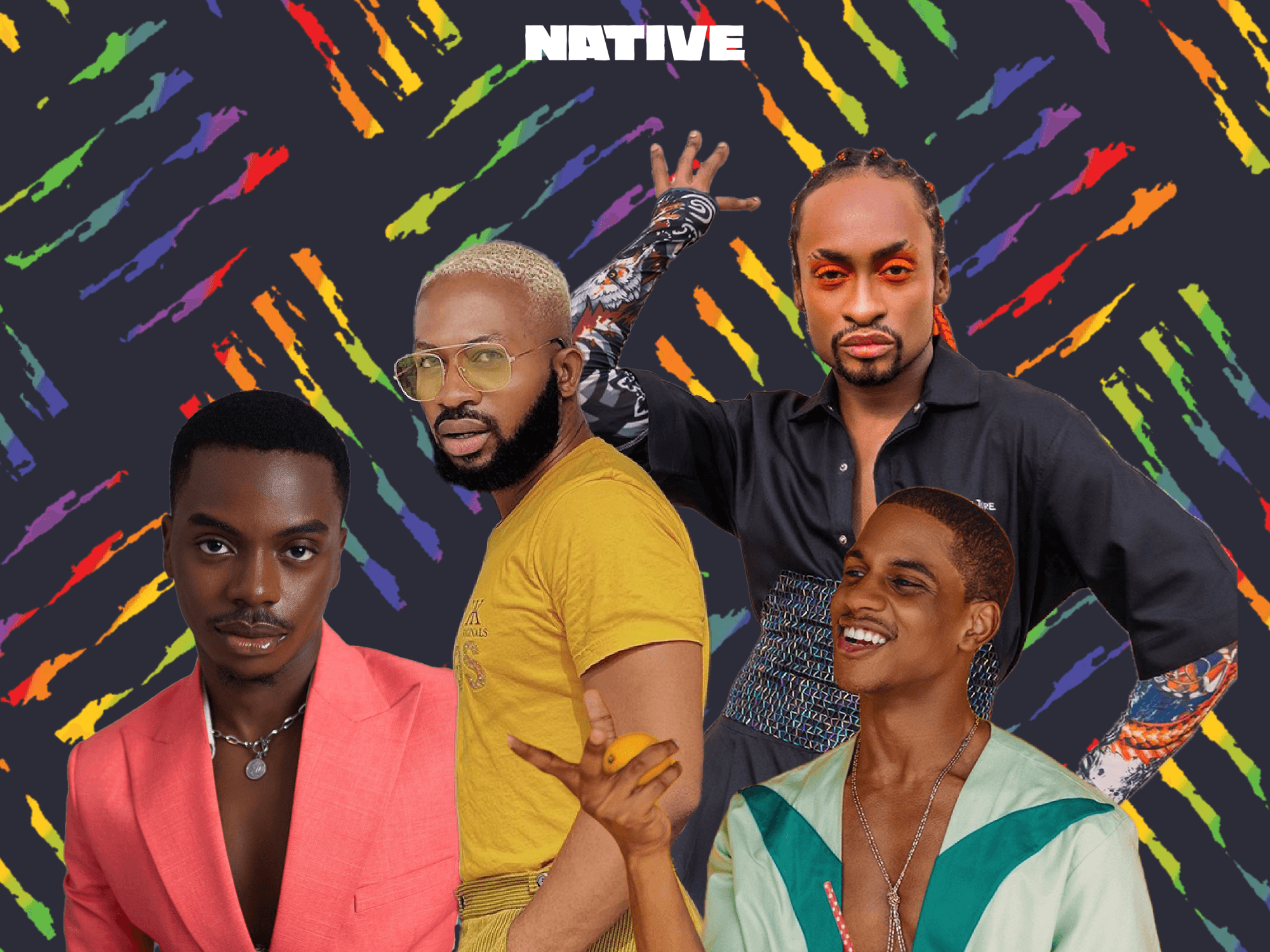 How Nigerian men are embracing self-expression through beauty and fashion