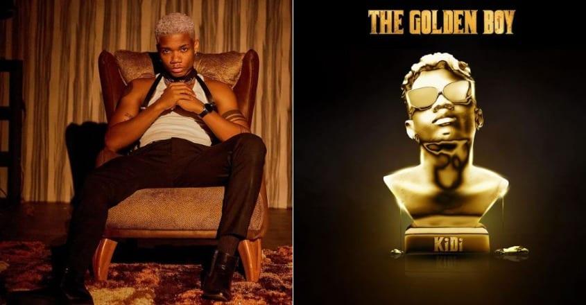 Listen to KiDi's new sophomore album, 'The Golden Boy'