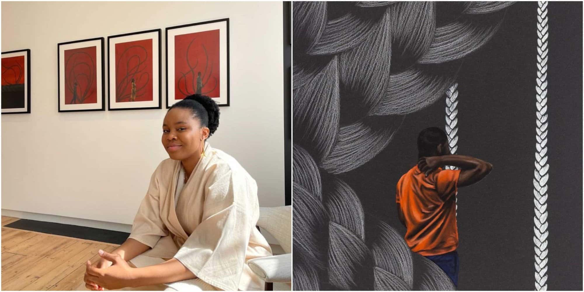 For The Girls: Meet Bunmi Agusto, the Artist Behind The Surrealist Wonderland 'Escape to Within'