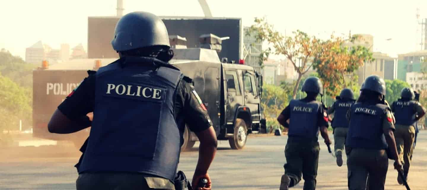 The Nigerian police continued to show villainous side during EndSARS memorial protests