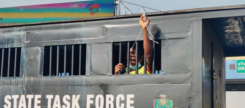 Nigerian Police Arrest Protesters At End SARS Memorial in Lekki